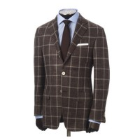 hickey freeman blue window pane summer tasmanian suit