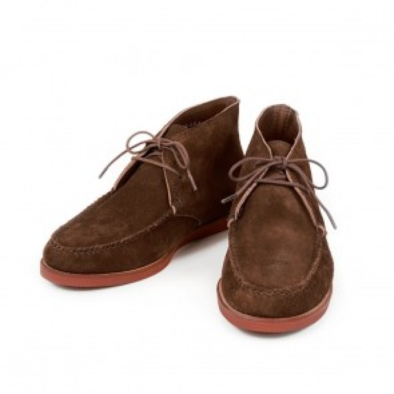 rancourt and company suede tan bedford chukka