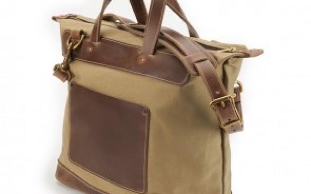 rancourt and company tan day bag