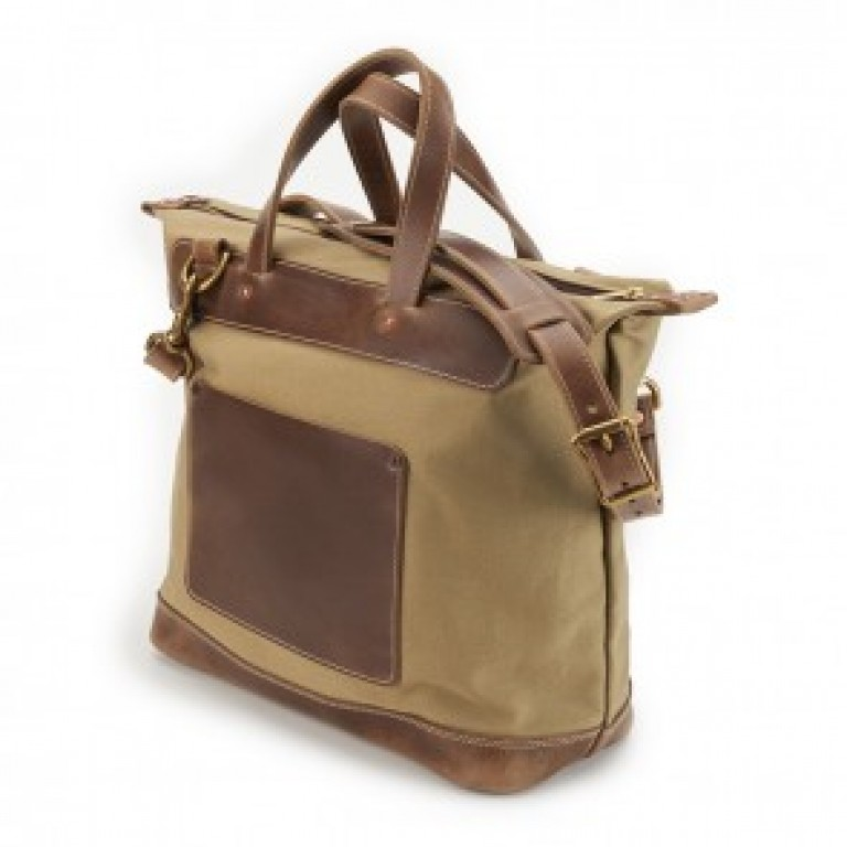 rancourt and company tan day bag