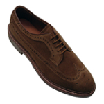 alden long wing blucher shoe