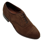 alden medallion tip balanced oxford shoe