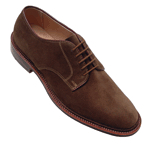 alden plain toe blucher shoe