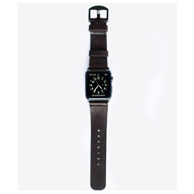 apple watch band dark brown_grande