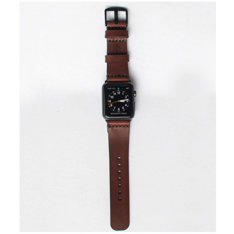 apple watch band medium brown_grande