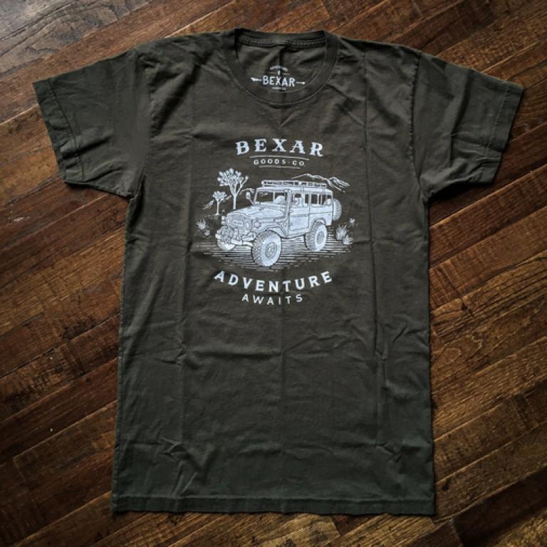 landcruiser adventure 4x4 t shirt