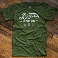 signature bexar goods co t shirt