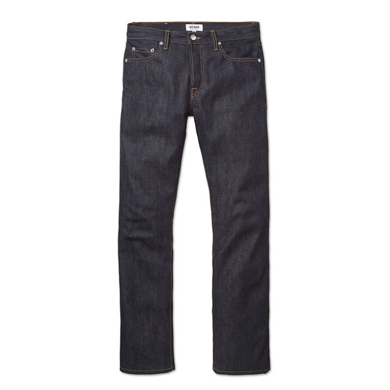 buck mason denim classic fit jeans