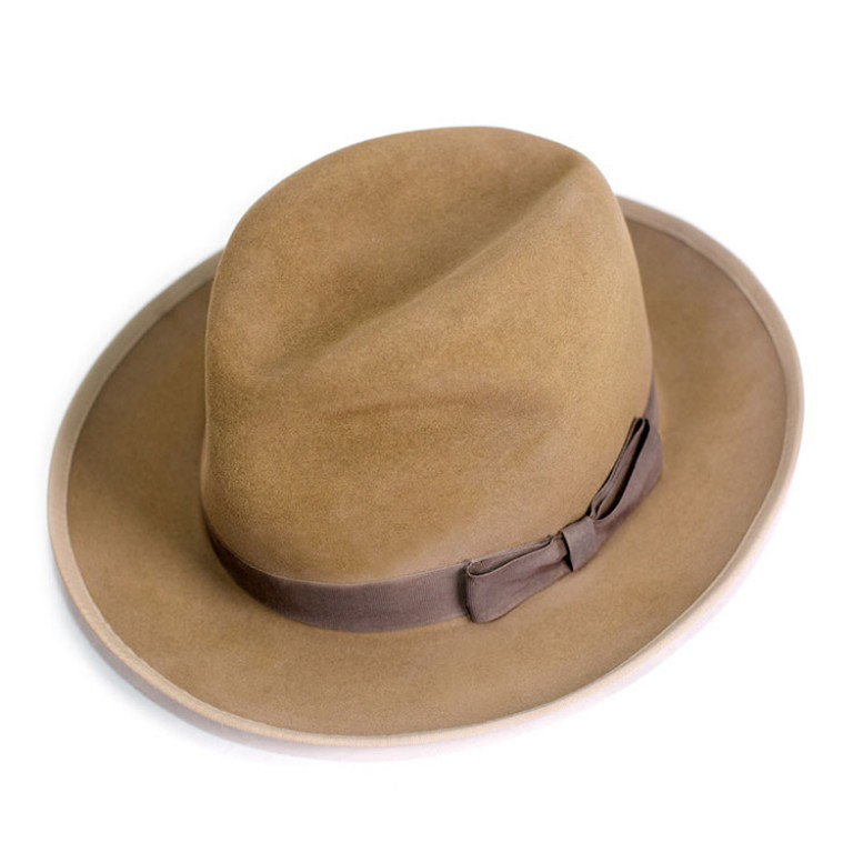 buck mason fedora_the highway_tan
