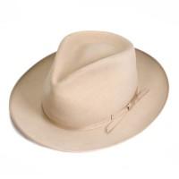 buck mason stetson fedora silver belly hat