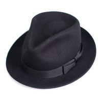 buck mason and stetson the rambler black fedora