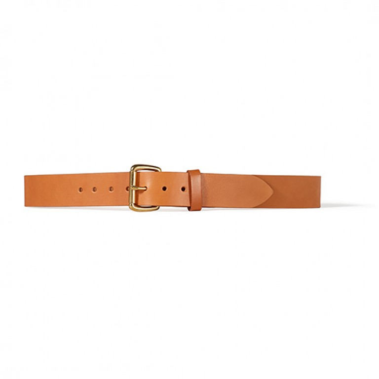 filson 1 1/2 inch tan belt
