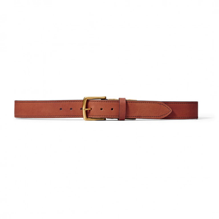 filson brown 1st avenue belt