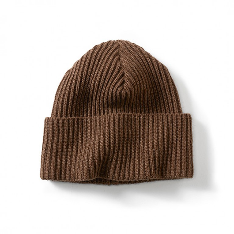 filson bison wool fisher beanie