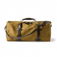 filson large tan duffle bag
