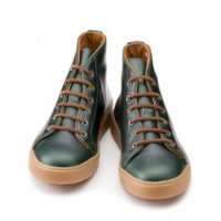 rancourt and company heritage classic mid top sneakers in brown