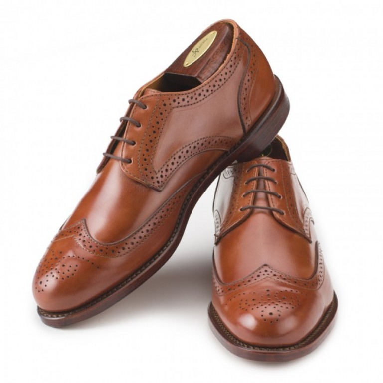 rancourt and company blake wingtip tan