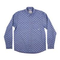 Iron and Resin - Casual Button-Down Shirts - INR Herrera Shirt Indigo