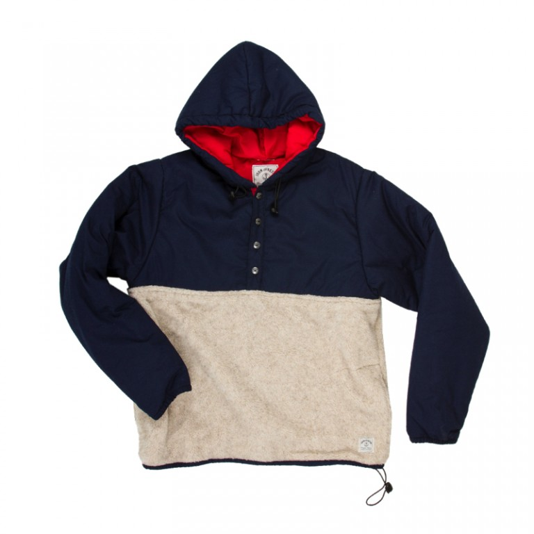 Iron and Resin - Coats and Jackets - Imperial Hoodie Navy