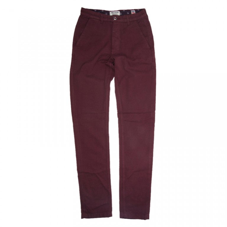 Iron and Resin - Pants - Engineer Chino Oxblood