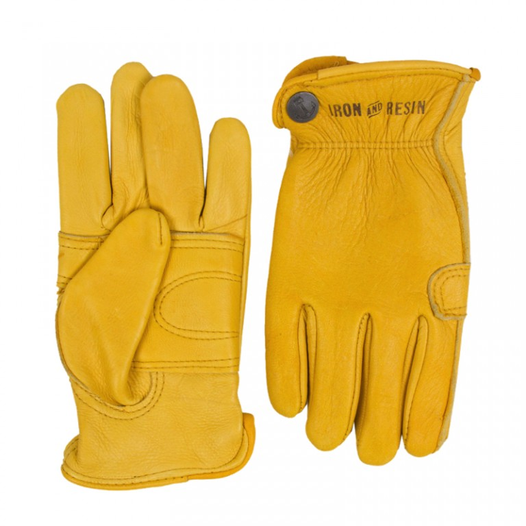 Iron and Resin - Scarves, Hats and Gloves - Cafe Glove Gold