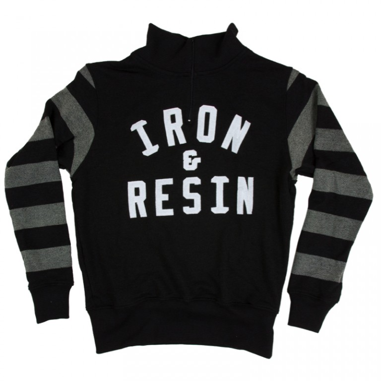 Iron and Resin - Sweaters - Daytona Sweater Black Stripe