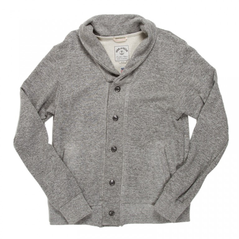 Iron and Resin - Sweaters - Fletcher Cardigan Heather Gray
