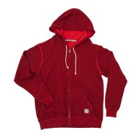 Iron and Resin - Sweatshirts - INR Soledad Zip Hoodie Red