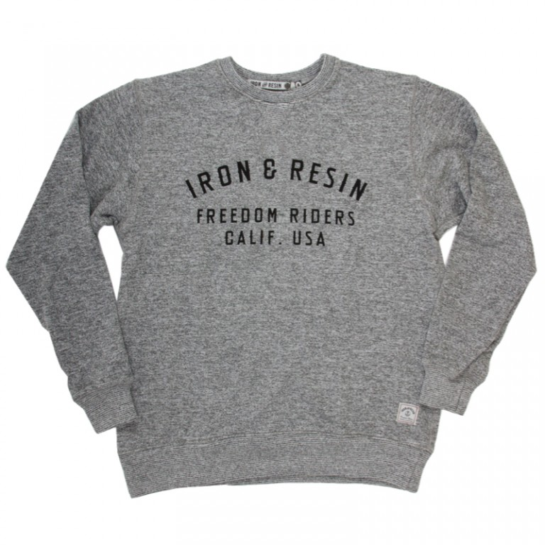 Iron and Resin - Sweatshirts - MC Crew Fleece Heather Gray