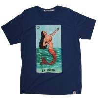 Iron and Resin - T-Shirts - La Sirena T-Shirt Blue