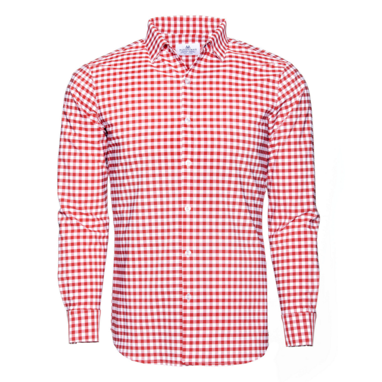 Mizzen+Main - Dress Shirts - Hatteras Red Check Dress Shirt