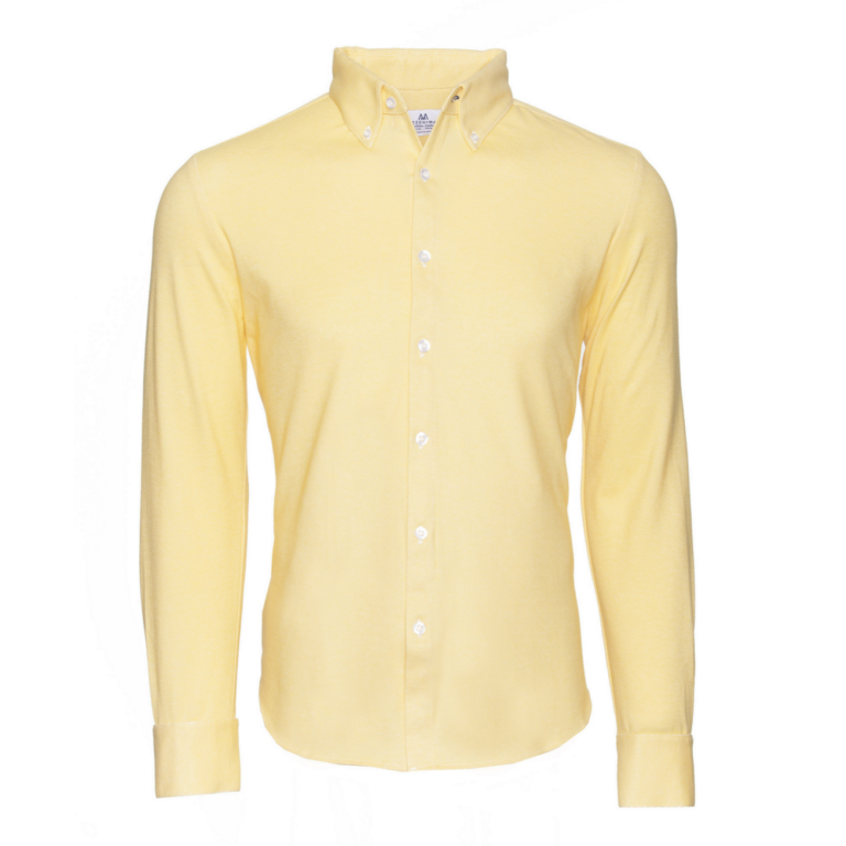 Mizzen+Main - Dress Shirts - Hemingway Yellow Oxford Button Down