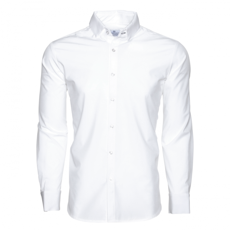 Mizzen+Main - Dress Shirts - Manhattan Solid White Dress Shirt