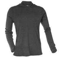 OLIVERS - Athletic - Merino Hooded Pullover Gunmetal