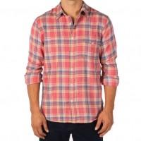 Save Khaki United - Casual Button-Down Shirts - Yarn Dye Flannel Work Shirt