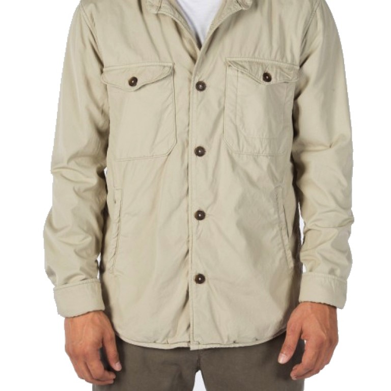 Save Khaki United - Coats and Jackets - Fleece Lined Multi-Pocket Jacket