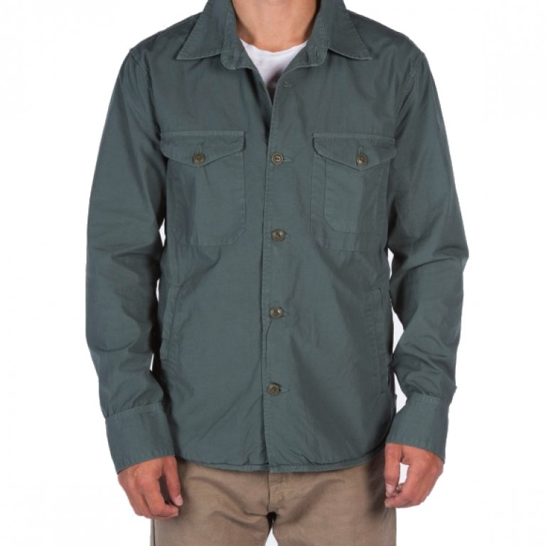 Save Khaki United - Coats and Jackets - Poplin Multi-Pocket Jacket