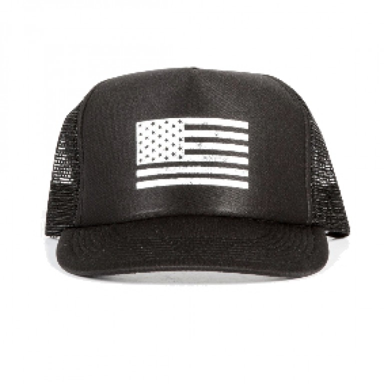 Save Khaki United - Hats - Flag Print Trucker Hat
