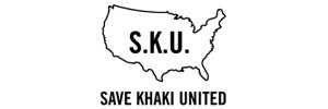 Save Khaki United Logo Rectangle