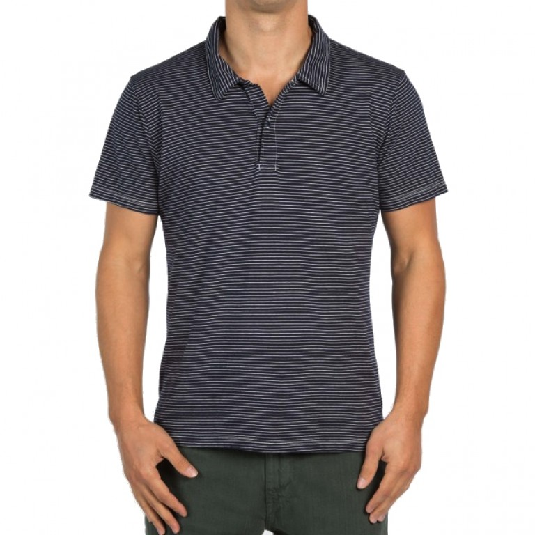 Save Khaki United - Polos - S-S Pencil Stripe Polo