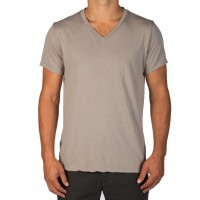 Save Khaki United - T-Shirts - S-S Supima V-Neck Tee