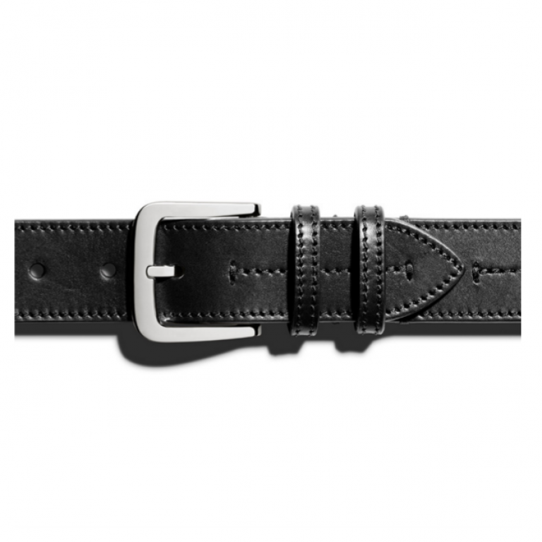Shinola - Suspenders and Belts - Center Switch Belt Black