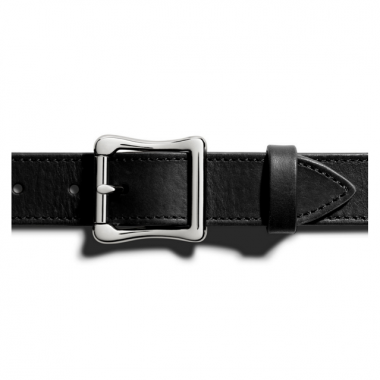 Shinola - Suspenders and Belts - Double Bar Roller Belt Black