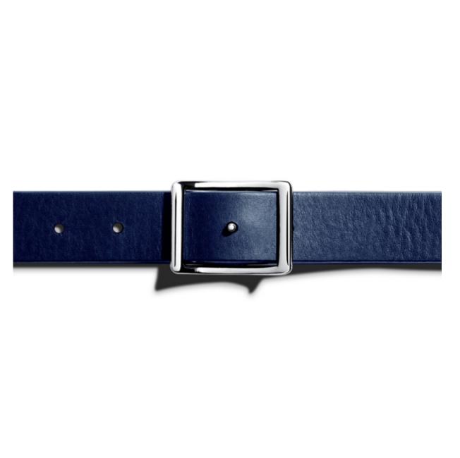 Shinola - Suspenders and Belts - Reversible Belt Navy Bourbon