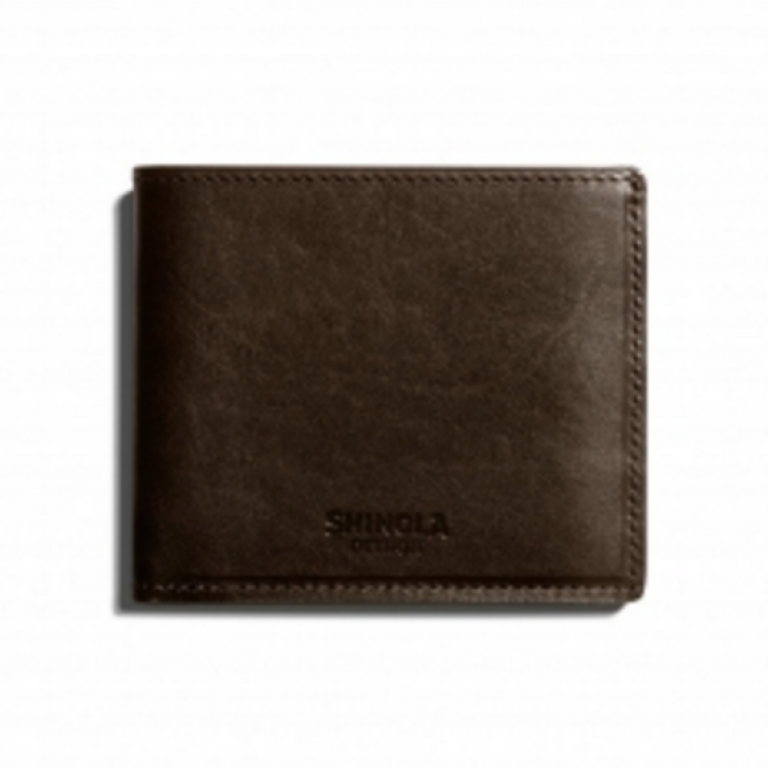 Shinola - Wallets and Bags - Classic Bifold Wallet Brown