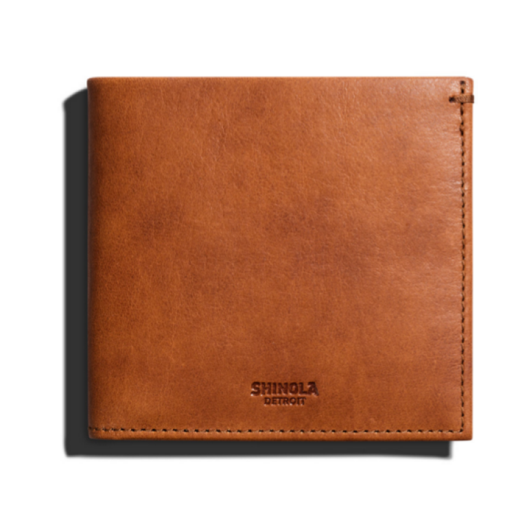 Shinola - Wallets and Bags - Hipster Wallet Tan