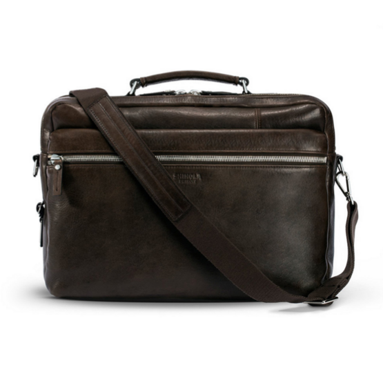 Shinola - Wallets and Bags - Signature Briefcase Brown
