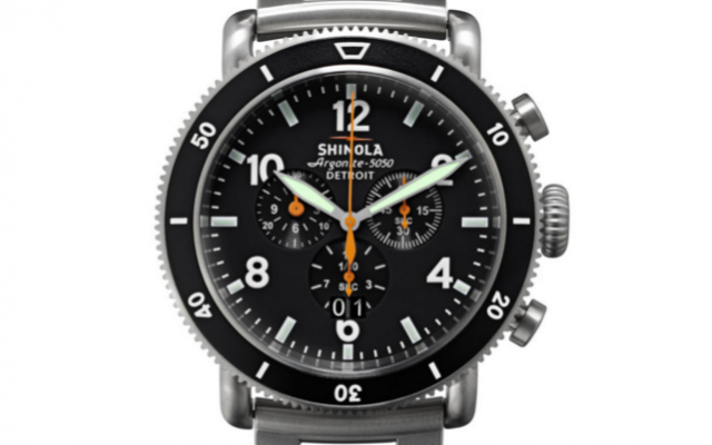 Shinola - Watches - The Black Blizzard Titaniu Chrono Men's
