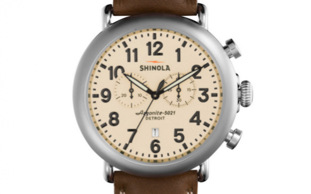 Shinola - Watches - The Runwell Chrono Men's Cream