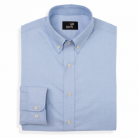 Todd Shelton - Dress Shirts - Classic Oxford Shirt Blue
